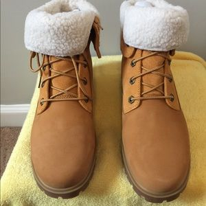 Brand New Fold Down Timberland Boots